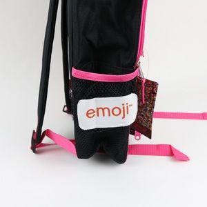 Emoji Accessories - Emoji Rainbow Poo Backpack with Lunch Kit